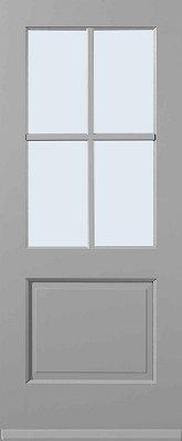 4 ruitsverdeling blank isolatieglas