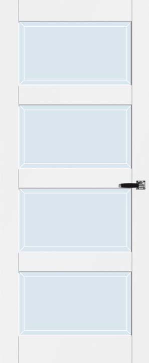 Blank facet glas