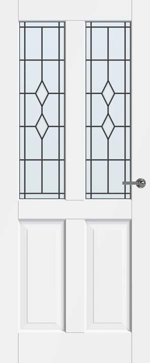 Glas in lood facade