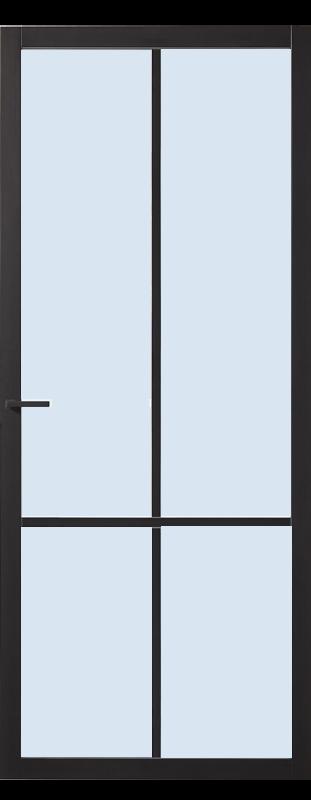cando binnendeuren Doncaster blank glas