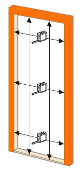 Geliefde Binnendeuren - Cando - Board gelakt superior 30 minuten brandwerend ZQ61